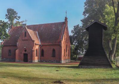 Glaznoty_NMP kościół neogotycki