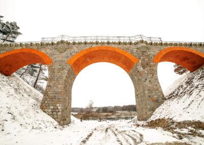 Most kolejowy w Glaznotach-1