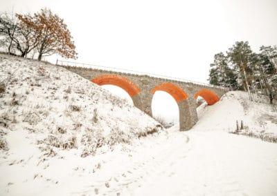 Most kolejowy w Glaznotach-2