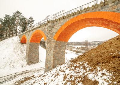 Most kolejowy w Glaznotach-4