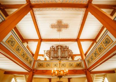 Prospekt organowy z XVIII wieku