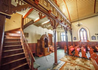 Wnętrze kościoła NMP w Glaznotach-1