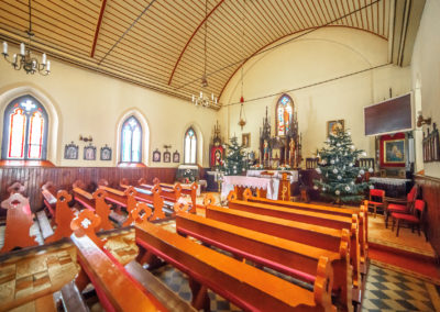 Wnętrze kościoła NMP w Glaznotach-2