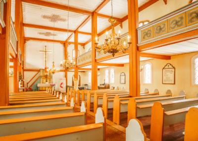 Wnętrze kościoła w Kraplewie-2