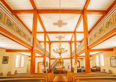 Wnętrze kościoła w Kraplewie-3