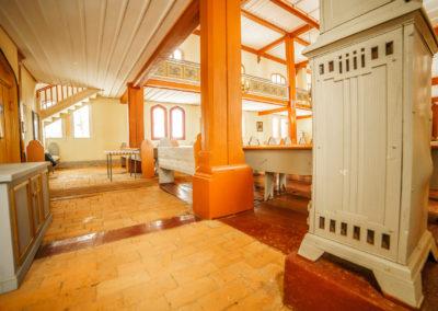 Wnętrze kościoła w Kraplewie-4