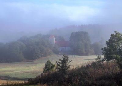 kościół w Glaznotach